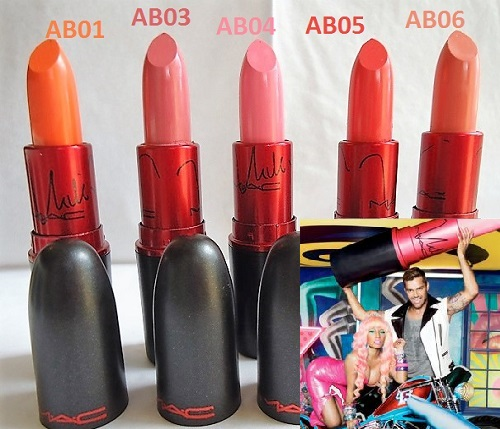 Labial MAC Viva Glam Nicki Minaj AB05